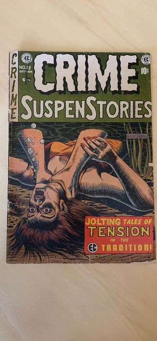 Crime SuspenStories #13 - Censured-c - Softcover - First edition - (1953)