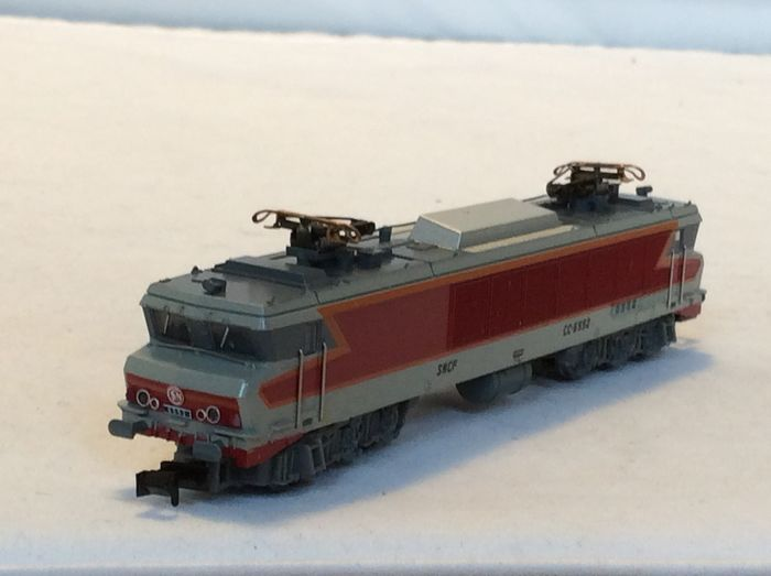 Minitrix N - 12821 - Electric locomotive - Series CC 6500 - (5167) - SNCF