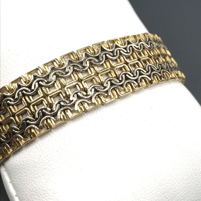 UnoAErre - 18 kt. White gold, Yellow gold - Bracelet