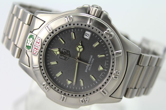"TAG Heuer - ""NO RESERVE PRICE""   - WD1120 607 Excellent Condition - Herren - 1990-1999"