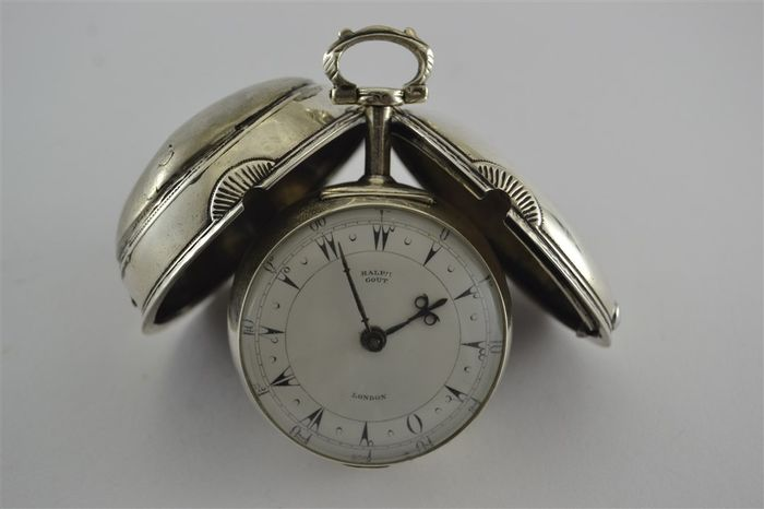 Ralph Gout - London Ottoman Verge Fusee Two Case - Bărbați - Înainte de 1850
