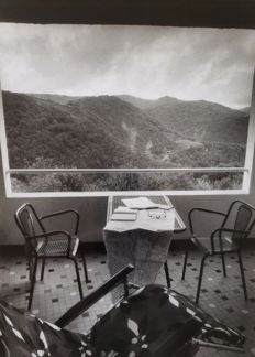Willy Ronis (1910-2009)  - Vacances a Najac, 1976