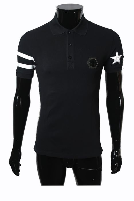 Philipp Plein - Stone Crafted Polo - Size: IT48 Size S/M
