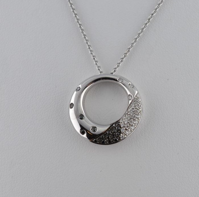 Davite & Delucchi  - 18 kt. White gold - Necklace with pendant