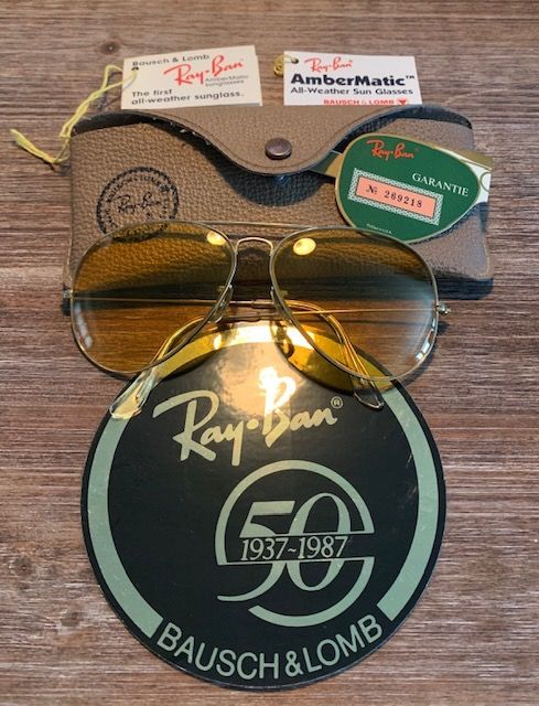 Ray-Ban - Aviator ambermatic Lunettes de soleil