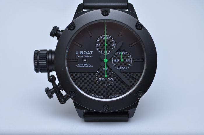 U-Boat - Limited Edition 34 of 300 Classic Titanium Automatic Chronograph NO RESERVE - REF. 6548 - Men - 2011-present
