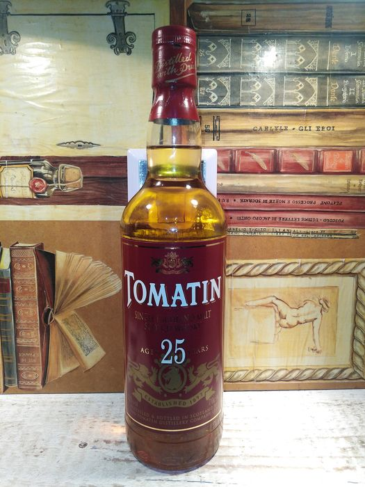 Tomatin 25 years old - Original bottling - 70cl
