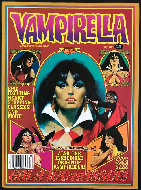 Vampirella (Vol.1 1969) - #100 Very High Grade - Con grapas - Primera edición - (1981)
