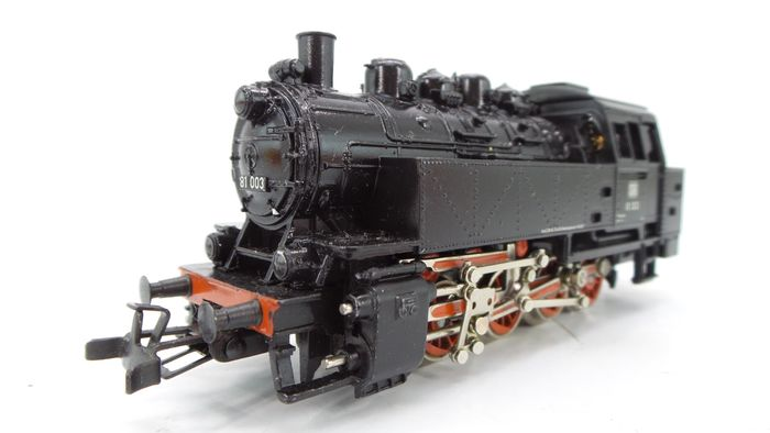 Primex H0 - P3196 - Tender locomotive - BR 81 - DB