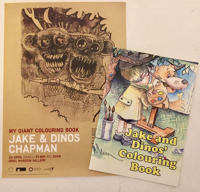 Jake and Dinos Chapman - My Giant Colouring Book