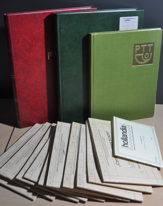 World - Batch in various stock books and a stack of circular booklets