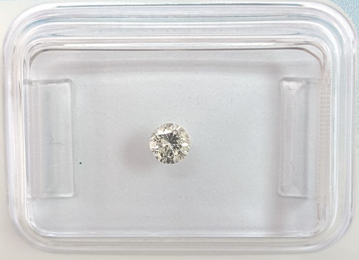 Diamond - 0.15 ct - Brilliant - G - SI2, IGI Antwerp - No Reserve Price