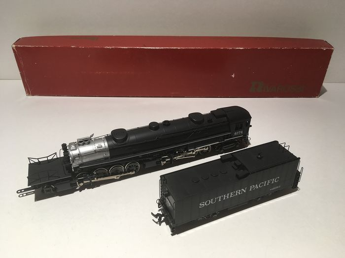 Rivarossi H0 - 1248 - Steam locomotive with tender - 4-8-8-2 Cab Forward - Southern Pacific