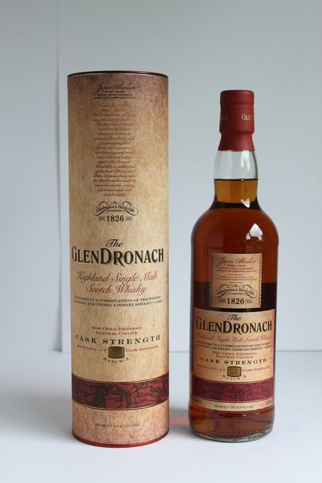 Glendronach Cask Strength Batch 3 - Limited Edition - Oloroso & Pedro Ximénez Casks - Distillery Bottling - b. 2013 - 700ml