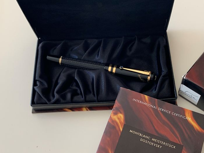 Montblanc - 1997 Dostoevski Limited Writers Edition Rollerball