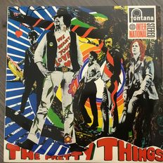 """The Pretty Things - """"We want your Love""""  - Hanglemez (album) - 1967/1967"""