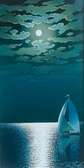 Igor Tormin - Moonlight at seaMoonlight at sea