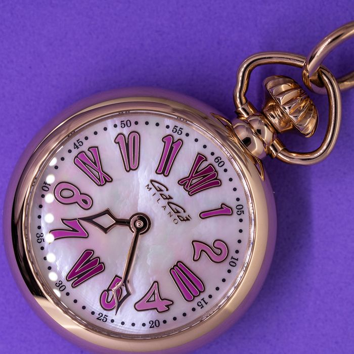 GaGà Milano - Necklace Pocket Watch 31MM Swiss Made - 7001.01 - Unisex - BRAND NEW