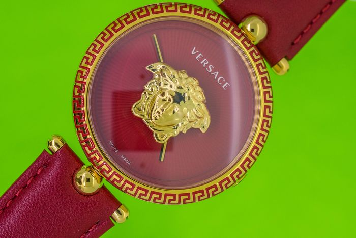 Versace - Palazzo Empire Red Dial 39MM - VCO120017 - Dames - Brand New