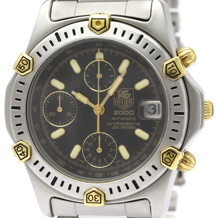 "TAG Heuer - 2000 Series - ""NO RESERVE PRICE"" - 165.306 - Homme - ."