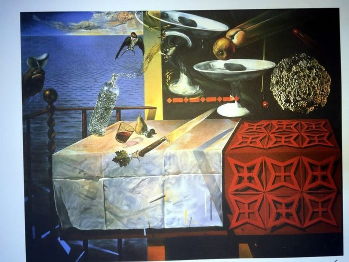Salvador Dalí (After) - Still Life-Fast Moving