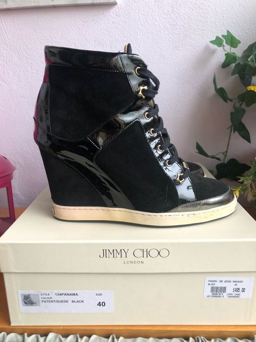 Jimmy Choo - panama wedge sneaker Lace-up shoes - Size: IT 40