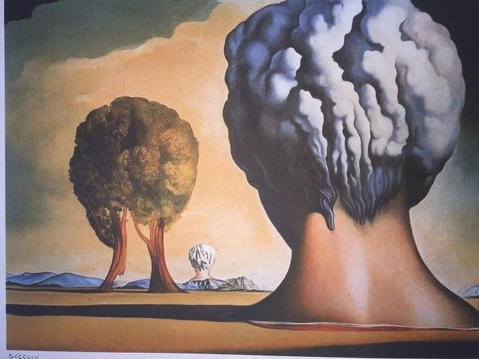 Salvador Dalí (After) - The Three Sphinxes of Bikini
