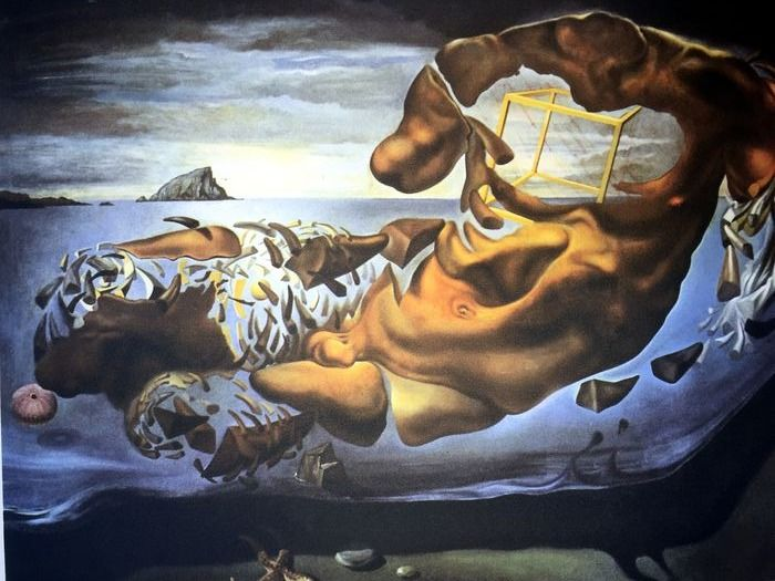 Salvador Dalí (After) - Rhinocerotic Disintegration of Illissus of Phidias