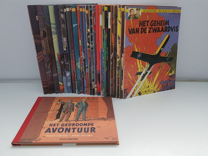 Blake & Mortimer - complete reeks - Softcover - Different editions - (1988/2019)