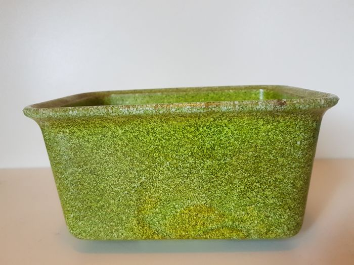 Leerdam - Leerdam - Cache Pot - yellow / green graniver cactus pot Copier Leerdam