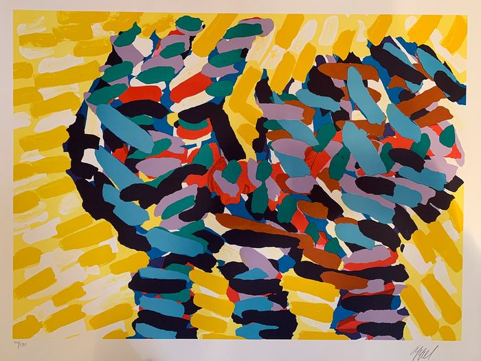 Karel Appel - Splintering Hands