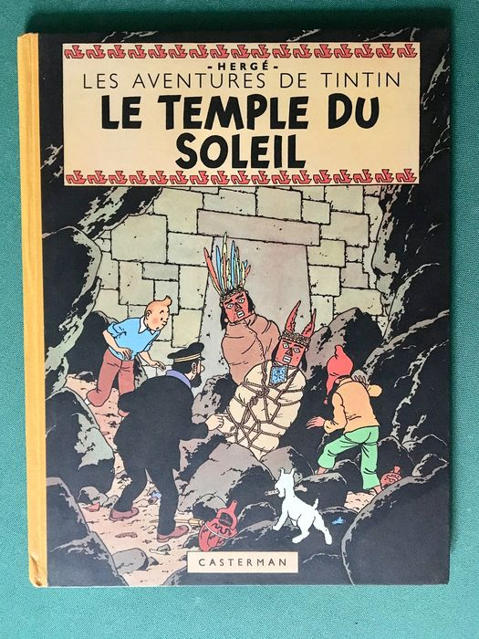 Tintin T14 - Le Temple du Soleil (B3) - C - First edition - (1949)