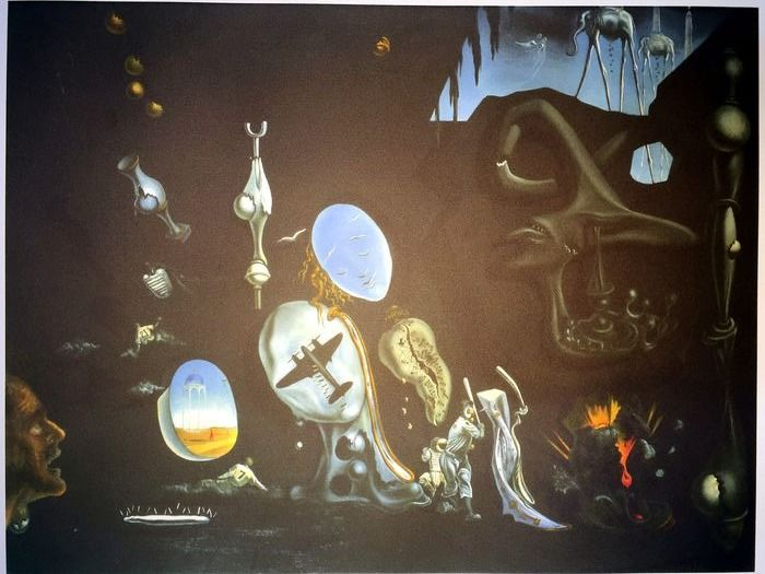 Salvador Dalí (After) - Melancholy, Atomic, Uranic Idyll