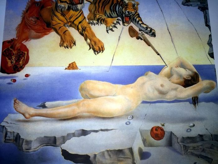 Salvador Dalí (After) - Dream Caused by the Flight of a Bee around a Pomegranate, One Second before Awakening