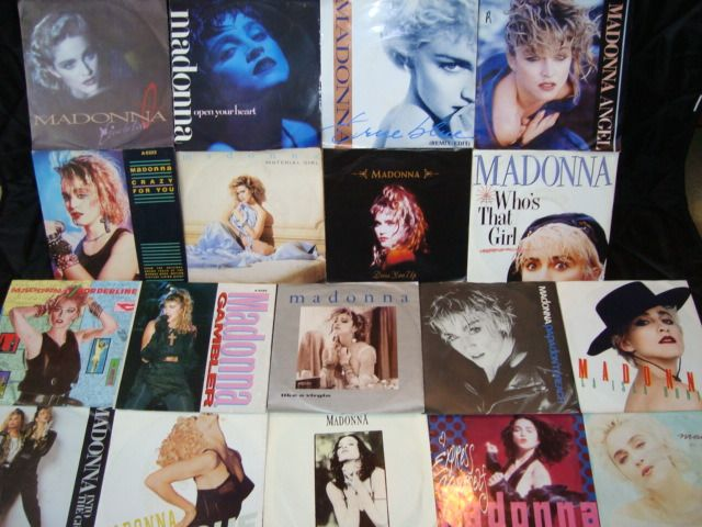 """Madonna - 18x 7"""" Vinyl Singles: Greatest Hits Collection - Multiple titles - 45 rpm Single - 1983/1990"""