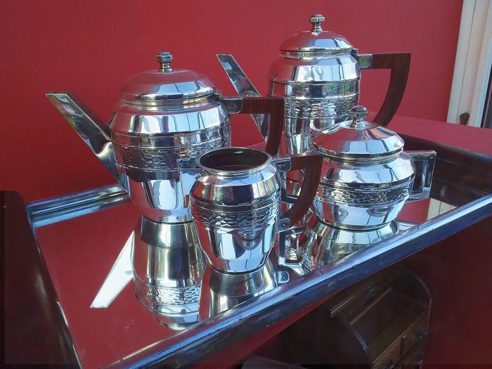 depose - tableware (5) - Art Deco - Silverplate