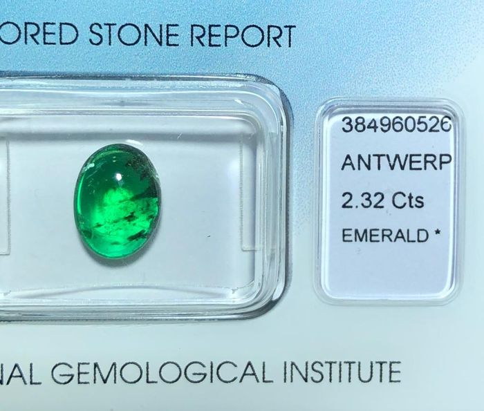Green Good Color Quality  Emerald - 2.32 ct