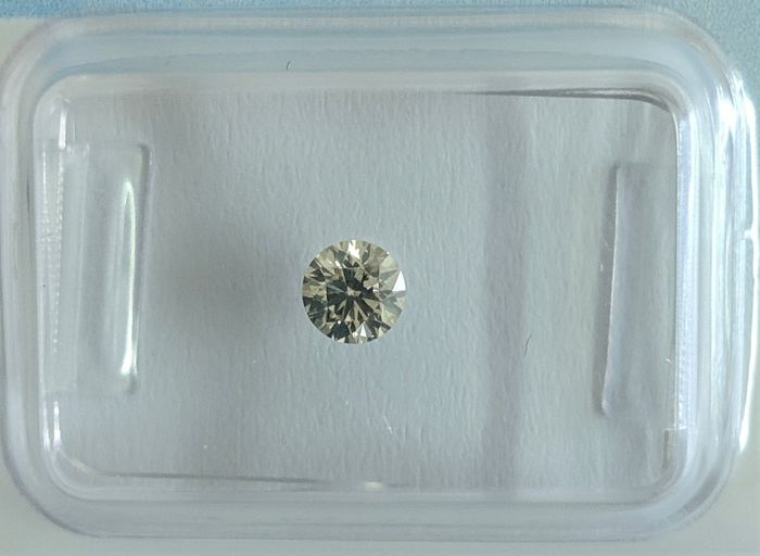 Diamant - 0.25 ct - Briljant - Y-Z Grey - VS1, IGI Antwerp - No Reserve Price