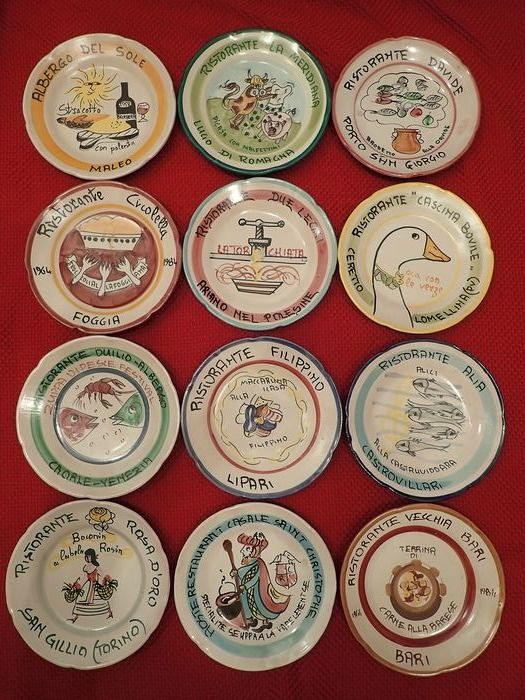 Ceramiche artistiche Solimene - Good memories dishes (12) - Ceramic