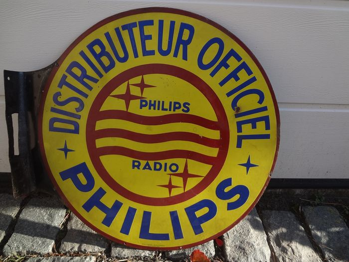 Philips - billboard double sided - Enamel