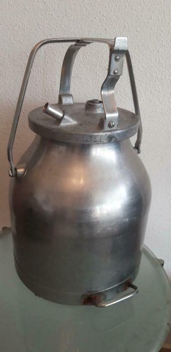 Manus Norrkoping Sweden - Swedish Milk Bucket Stainless steel (1) - Steel (stainless)