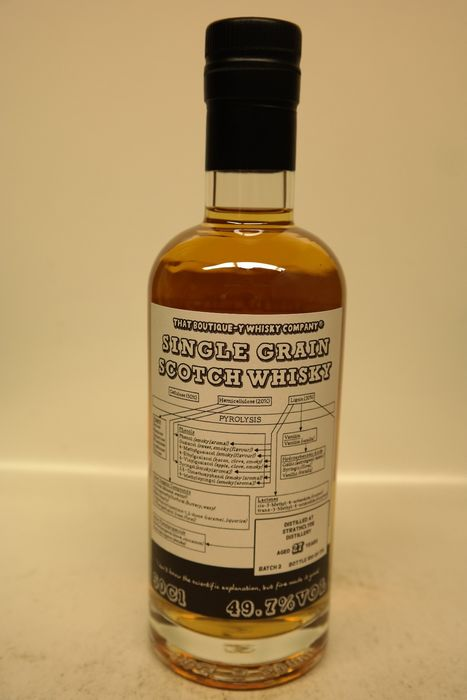Strathclyde 27 years old Batch 2 - one of 178 bottles - That Boutique-Y Whisky Company - 500ml