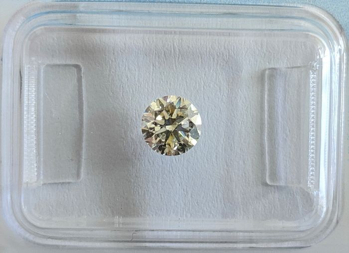 Diamant - 0.53 ct - Brillant - M - SI2, IGI Antwerp - No Reserve Price