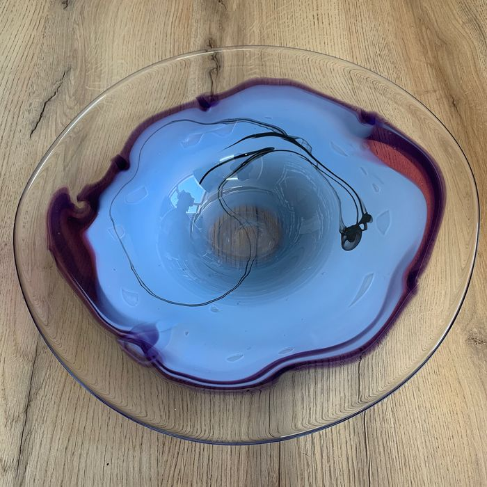 Udo Edelmann (1938-2019) - Glashaus Edelmann - Unica Glaskunst Design Object (Scale) - Glass