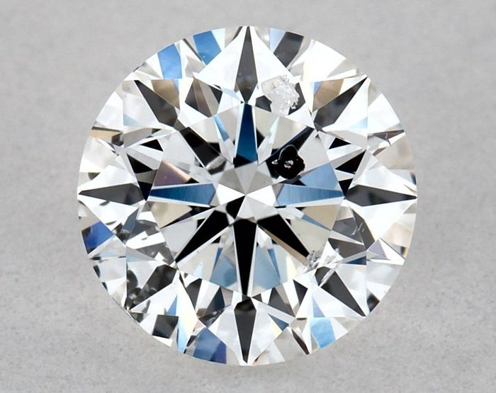 1 pcs Diamant - 0.80 ct - Brillant, Rond - E - SI2, ** GD/VG/GD - Low Reserve Price + Free Shipping **