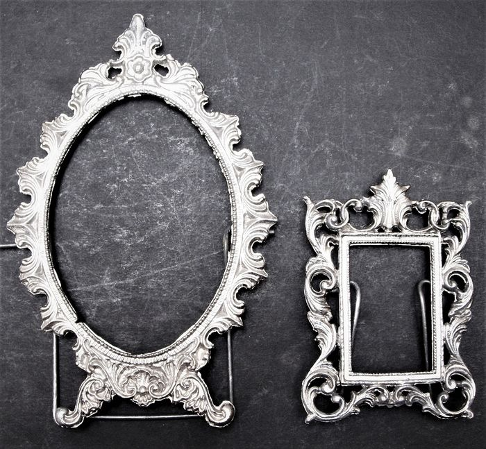 Two Antique Frames (2) - Silver plated