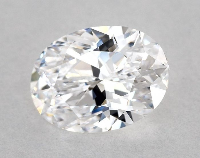 1 pcs Diamond - 1.06 ct - Brilliant, Oval - D (colourless), GIA - VG/GD - IF (flawless), Low Reserve Price + Free Shipping