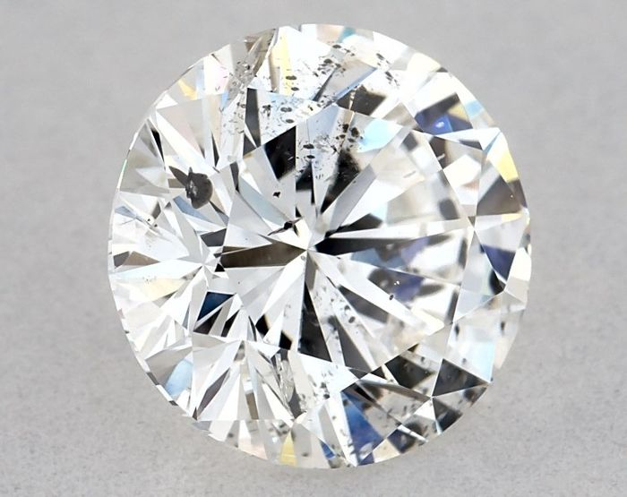 1 pcs Diamant - 1.15 ct - Rund - F - SI2, GIA - 3VG - Low Reserve Price