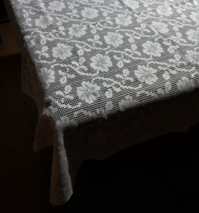 tablecloth (1) - Cotton - Second half 20th century