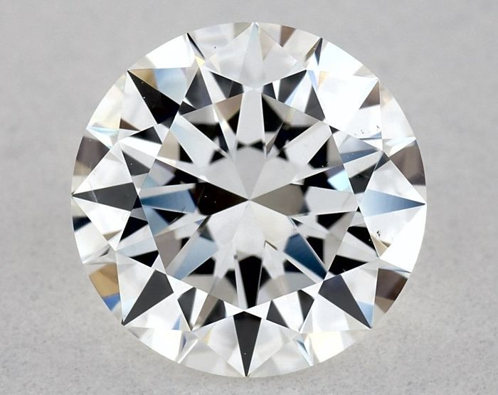 1 pcs Diamant - 1.07 ct - Brillant, Rund - E, GIA - VG/EX/EX - VS2, Low Reserve Price + Free Shipping